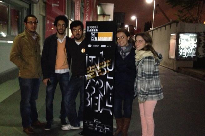17.11.2012 / 1. İstanbul Tasarım Bienali Gezisi