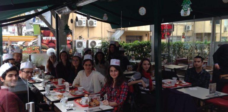 24.11.2013 / Krispy Kreme İşyeri Gezisi