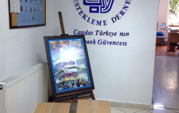 31.05.2014 / Bakırköy Çağdaş Yaşamı Destekleme Derneği Spor Malzemeleri Bağışı