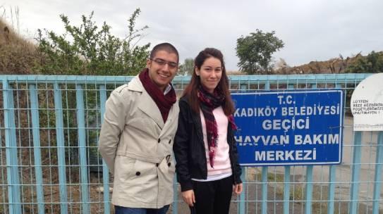 06.10.2013 / Ataşehir Hayvan Barınağı Mama Yardımı