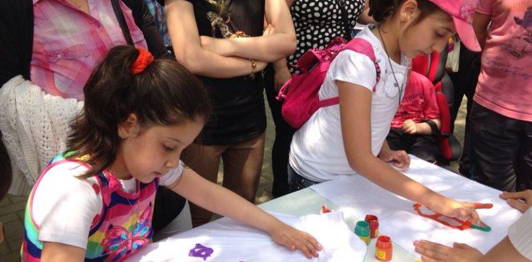 25.05.2014 / Kelebek Festivali Tshirt Boyama Standı
