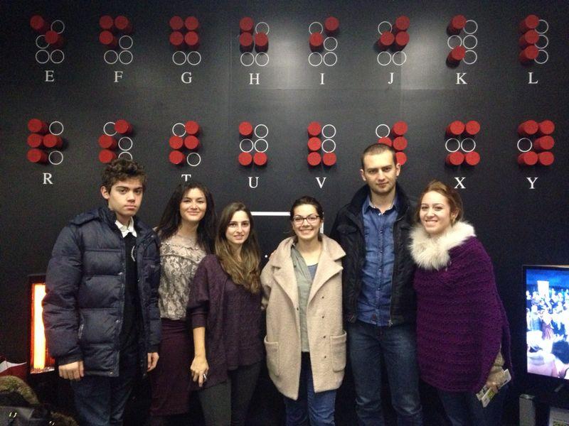 28.12.2013 / Karanlıkta Dialog Sergi Gezisi
