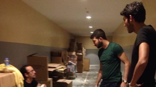21.09.2014 / İçerenköy Carrefour AVM Kumbara Boşaltımı