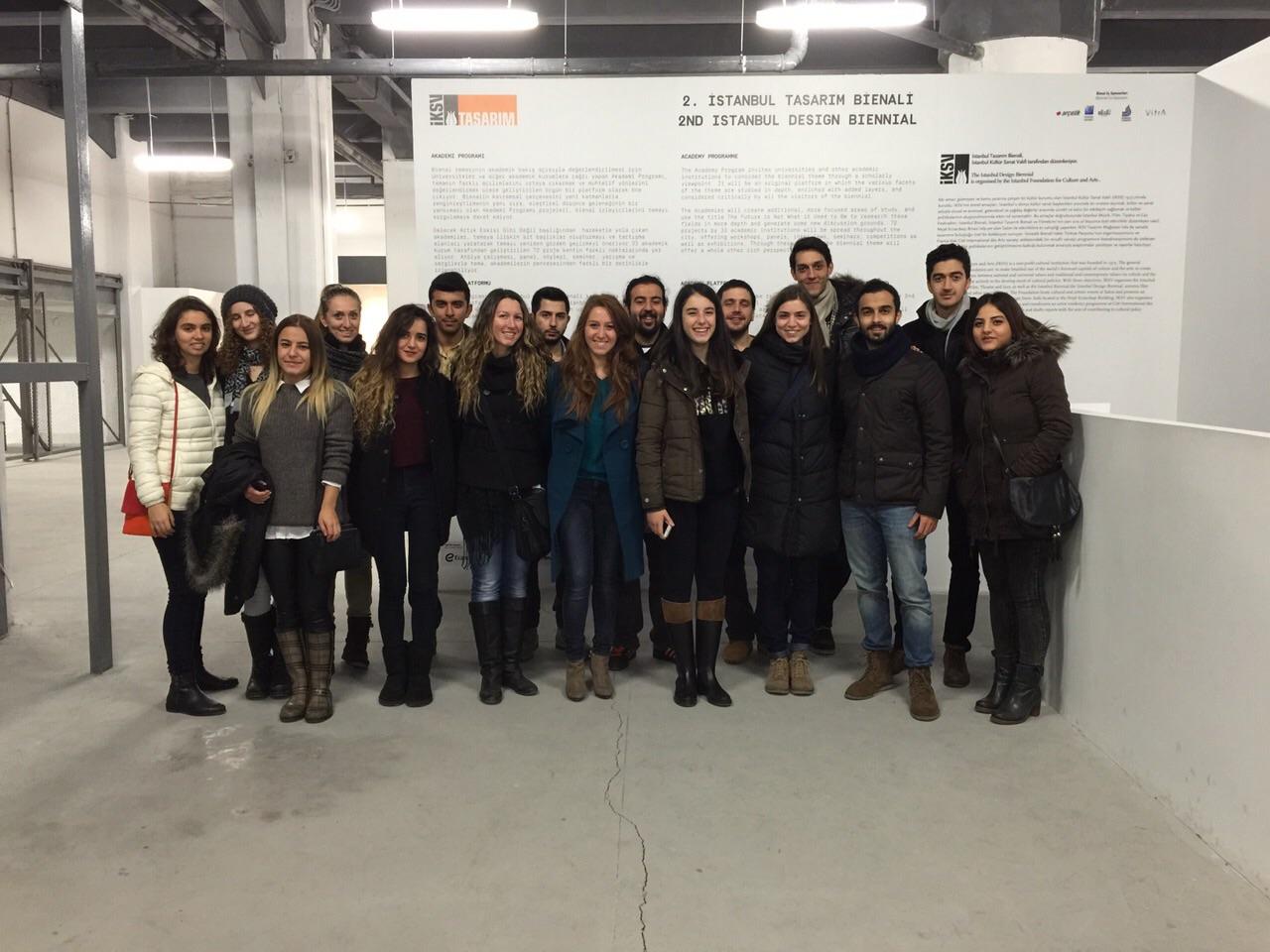 23.11.2014 / 2. İstanbul Tasarım Bienali Gezisi