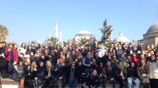 17.01.2015 / Rotaract European Meeting (REM) İstanbul Tarihi Yarımada Turu