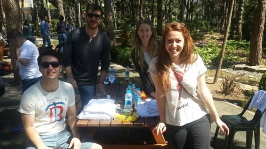 10.05.2015 / Kelebek Festivali Tshirt Boyama Standı