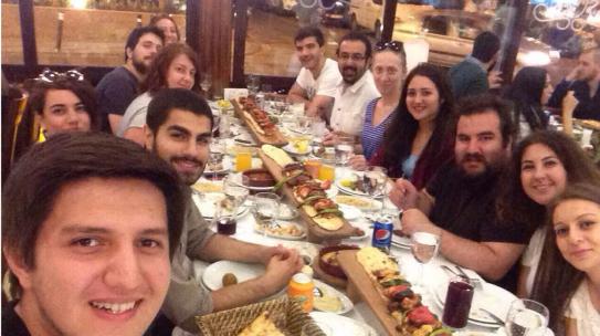 11.07.2015 / Bakırköy RAC & Safranbolu RAC Ortak Ocakbaşı