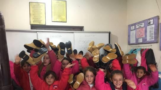 07.12.2017 / Bot & Mont Yardımı [Erzurum – Gündüz İlköğretim Okulu]