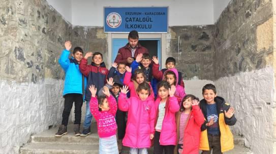 07.12.2017 / Bot & Mont Yardımı [Erzurum – Çatalgül İlköğretim Okulu]