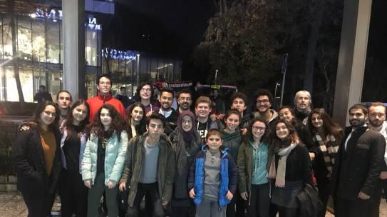 20.12.2017 / Daruşşafaka Doğuş – Fiat Turin 7Days Basketbol Maçı Organizasyonu [Mustafa Kemal Anadolu Lisesi]
