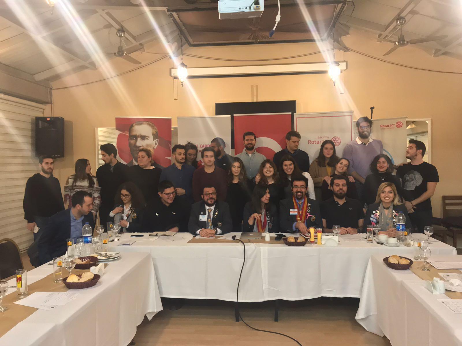 01.02.2018 / Konuk Konuşmacılı Toplantı [Rotary&Rotaract İlişkileri – Durmuş Üstdağ]