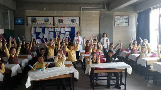 09.03.2018 / Dental Hijyen Eğitimi [İstanbul – Muallim Cevdet İlkokulu]