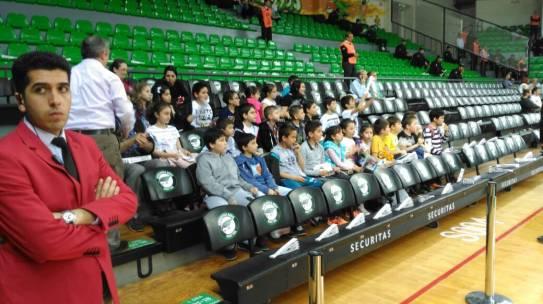 11.04.2016 / Darüşşafaka Doğuş – Pınar Karşıyaka Basketbol Maçı Organizasyonu