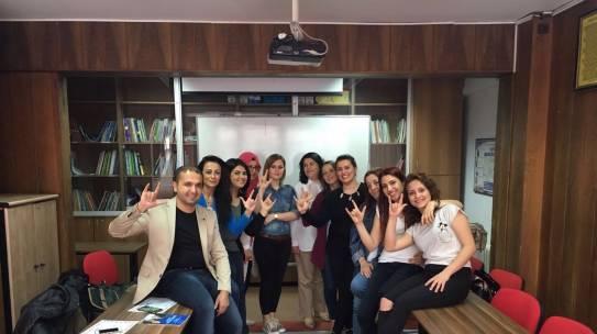 12.04.2016 / Ücretsiz İşaret Dili Eğitimi