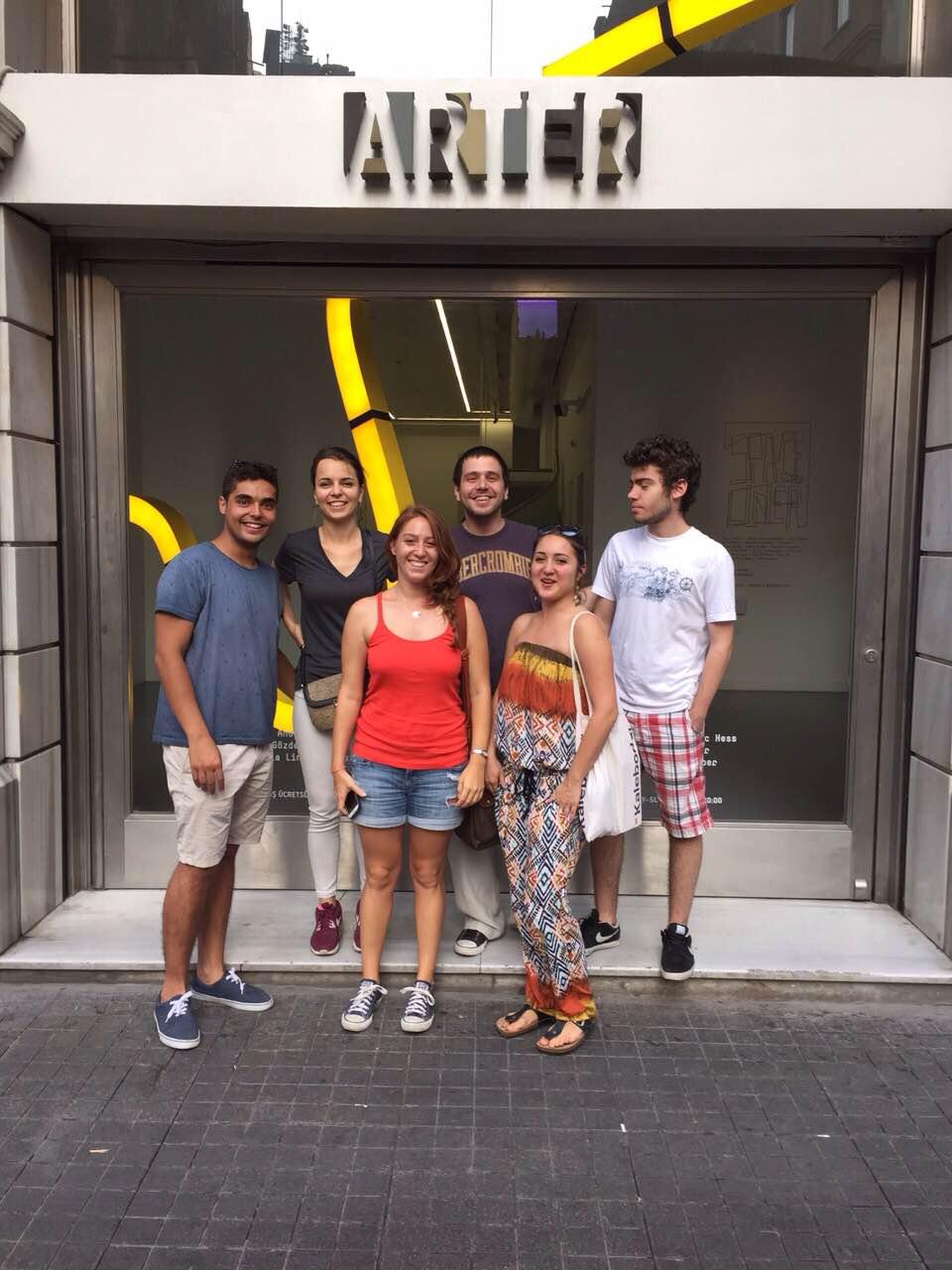 02.08.2015 / Arter Sanat Galerisi Gezisi