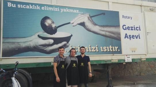 22.07.2017 / Rotary Gezici Aşevi Yemek Dağıtımı