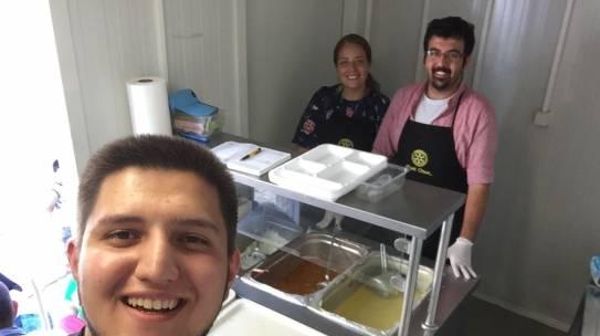 26.08.2017 / Rotary Gezici Aşevi Yemek Dağıtımı