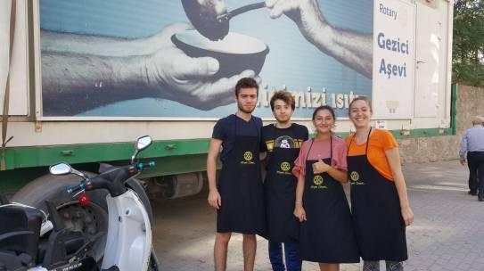 27.08.2017 / Rotary Gezici Aşevi Yemek Dağıtımı