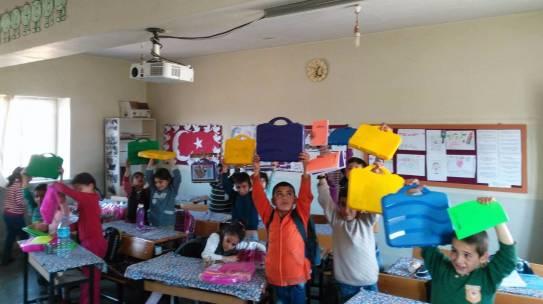 16.11.2017 / Okul Seti Yardımı [Diyarbakır-Çermik Yabanardı İlkokulu ]