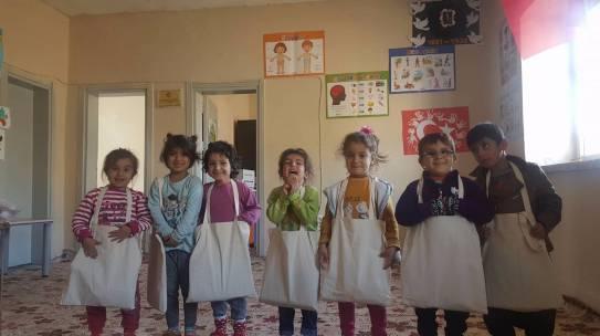 16.11.2017 / Okul Seti Yardımı [Diyarbakır – Çermik Yabanardı Anaokulu]