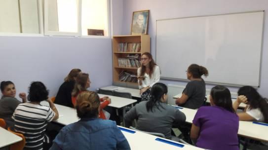 04.10.2018 / Kadın Hakları Eğitimi