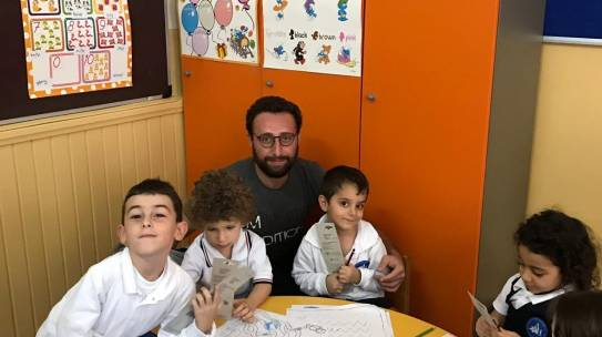 03.10.2018 / Okul Seti Yardımı [Anarat Hıgutyun Ermeni Okulu]