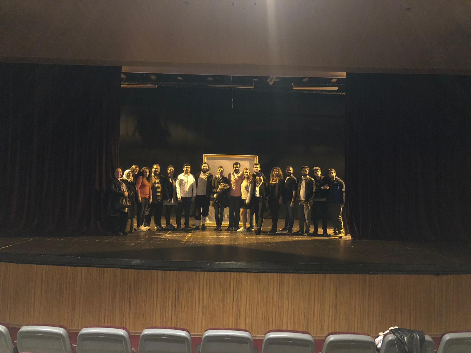 20.10.2018 / Suç Makinesi Tiyatro Gösterimi