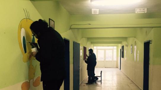 04.12.2015 / Karabük Cumayanı İlkokulu Boyama Projesi