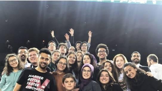 29.11.2017 / Darüşşafaka Doğuş – Eskişehir Basket Basketbol Maçı Organizasyonu [Mustafa Kemal Anadolu Lisesi]