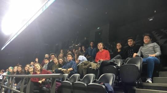 07.11.2017 / Darüşşafaka Doğuş – MoraBanc Andorra Basketbol Maçı Organizasyonu [Mustafa Kemal Anadolu Lisesi]