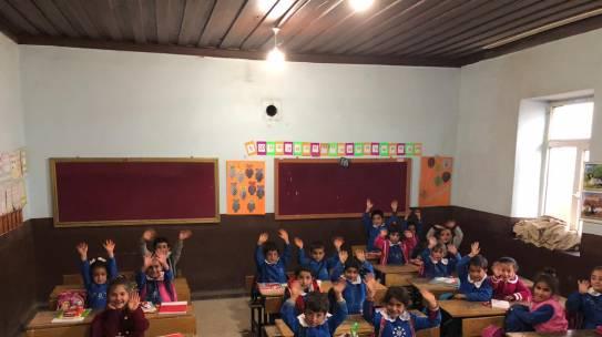 03.10.2018 / Kırtasiye Yardımı [Van – Beyarslan İlkokulu]