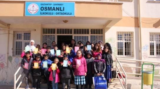 15.02.2017 / Bot & Mont Yardımı [Gaziantep – Şahinbey Osmanlı İlkokulu]