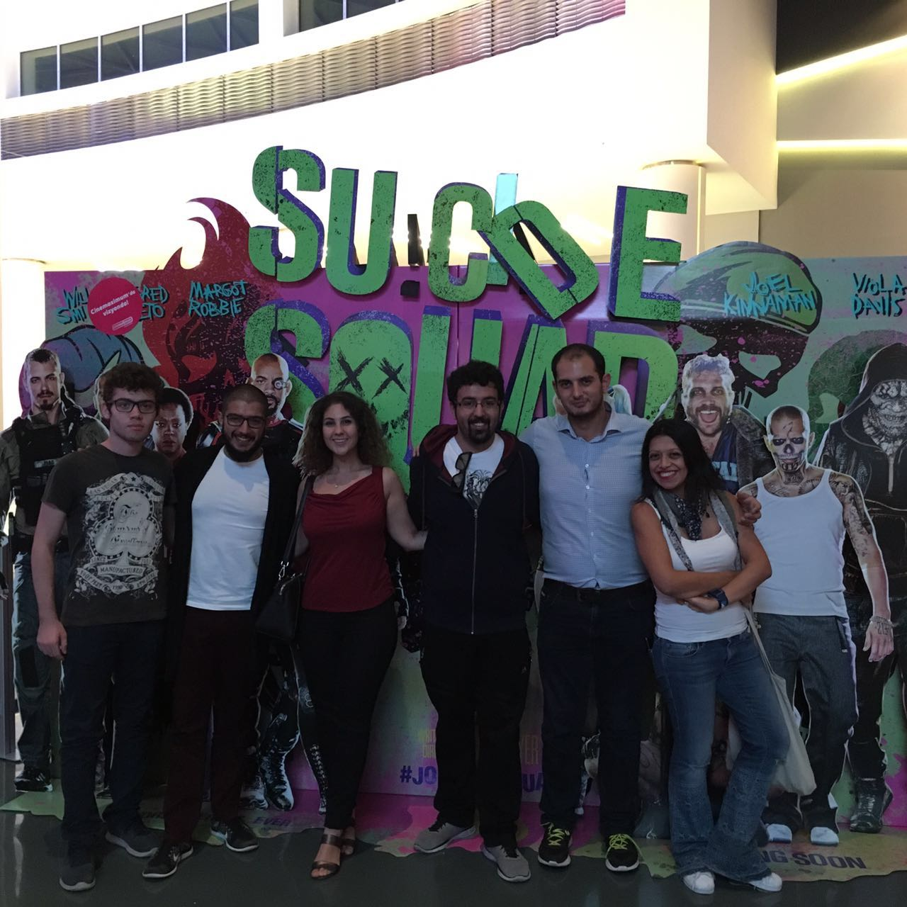 13.08.2016 / Kulüp İçi Sinema Organizasyonu [Suicide Squad]