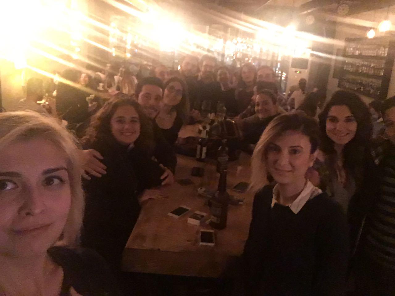 25.11.2016 / Bakırköy RAC – Fatih RAC – Ortaköy RAC Ortak Ocakbaşı