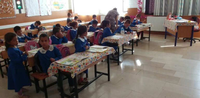08.09.2016 / Okul Seti Yardımı [Şanlıurfa – Suruç Yönlü İlkokulu]
