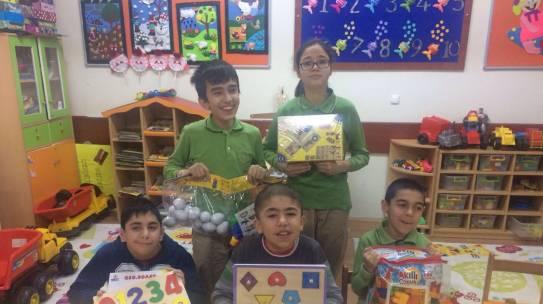 17.02.2017 / Özel Eğitim Sınıfı Eğitim Materyali Yardımı [İstanbul – Orbay İlkokulu]