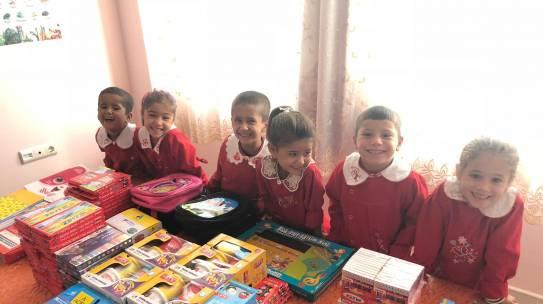 03.10.2018 / Kırtasiye Yardımı [Gaziantep – Tokaçlı Köyü İlkokulu]