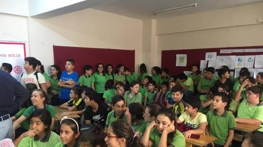 12.10.2018 / Çocuk Hakları Eğitimi [Hatay – Gümüşgöze Ortaokulu]