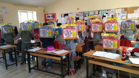 19.11.2018 / Okul Seti Yardımı [Kütahya – Sevdiğin Ortaokulu]