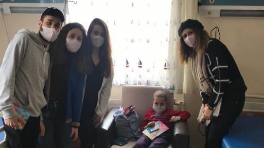 27.02.2019 / Cerrahpaşa Tıp Fakültesi Çocuk Onkoloji Birimi Boyama Seti Yardımı