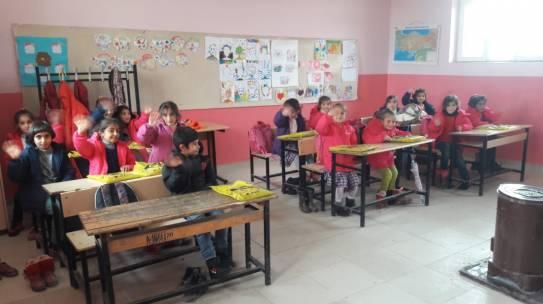 11.01.2019 / Bot & Mont Yardımı [Şırnak – İdil Gültepe İlkokulu]