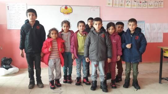 11.01.2019 / Bot & Mont Yardımı [Şırnak – Yeniköy İlkokulu/Ortaokulu]