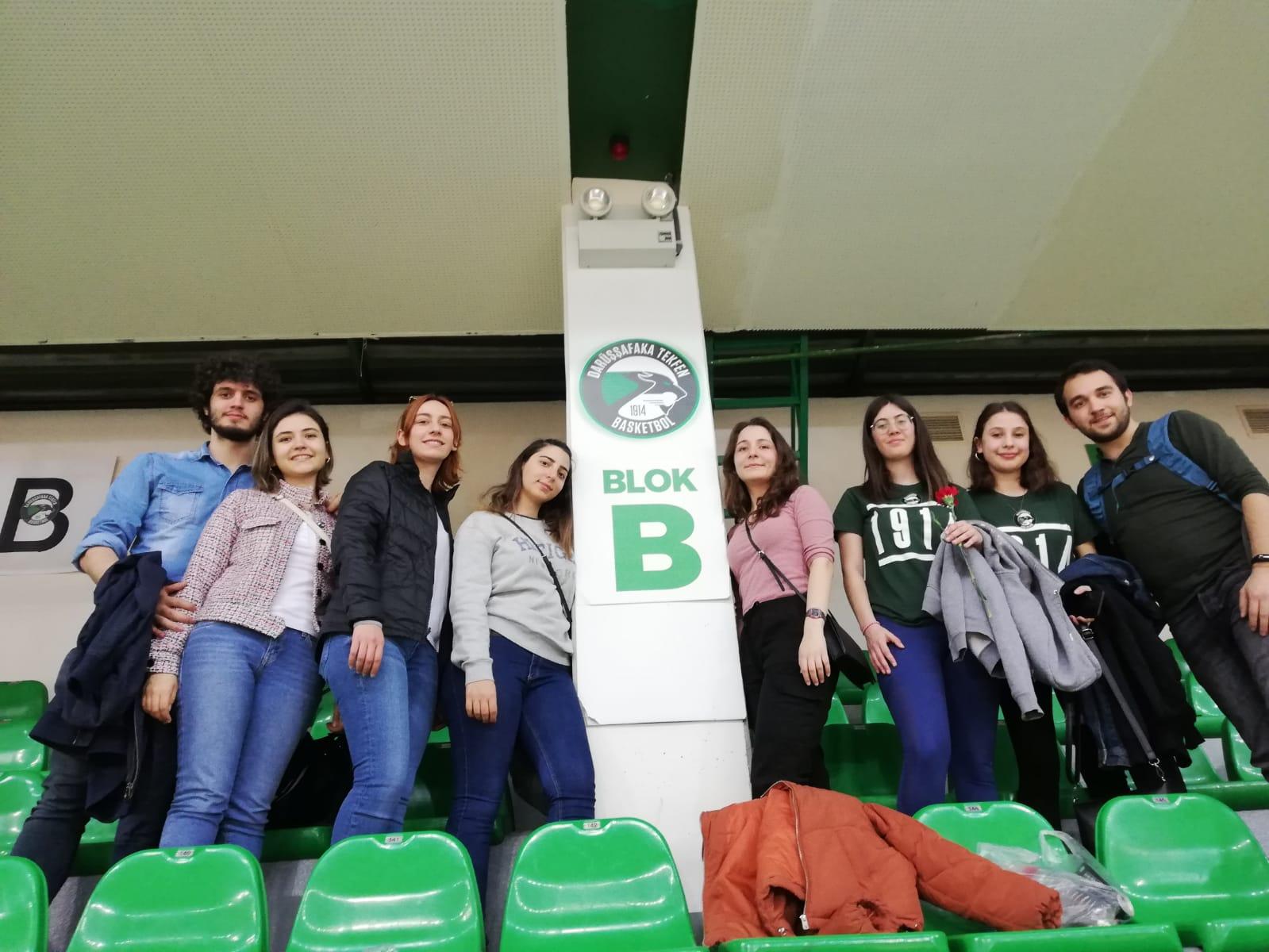 08.03.2020 / Darüşşafaka Tekfen – Galatasaray Basketbol Maçı Kulüp İçi Organizasyonu