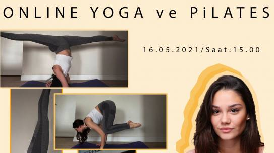 16.05.2021 / Online Pilates Eğitimi